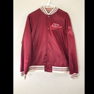 Men's varsity windbreaker jacket